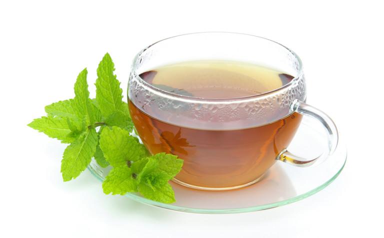 Чай с мандарином и мятой