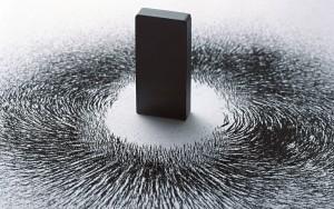 гладкий кусок магнита