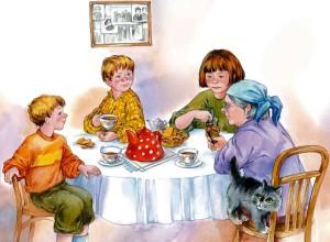 Всей семьей пьем гороховый чай для здоровья почек