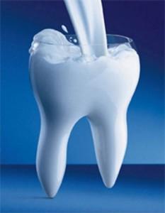 Чищу зубы сухим молоком