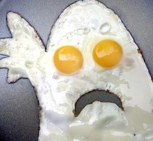 На завтрак ем кашу вместо яичницы