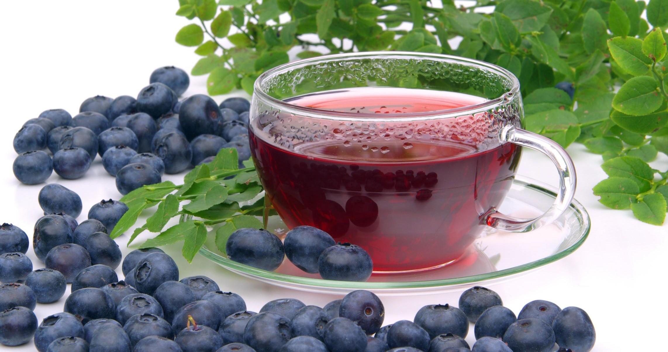 Чай с черникой - польза, как заваривать 21