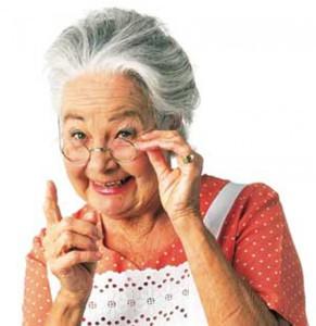 У бабушки