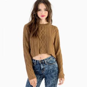 короткие свитеры