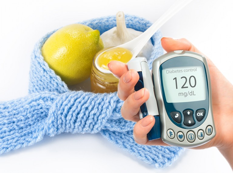 Как лечить простуду если диабет