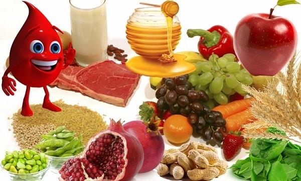 7 продуктов для крови
