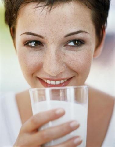 Гинеколог сказал, надо пить молоко…