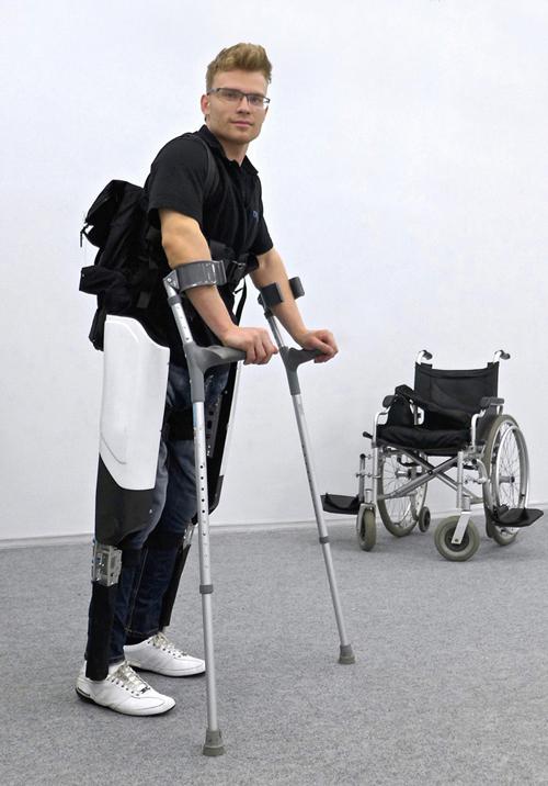 «Экзо-Атлет» для инвалидов