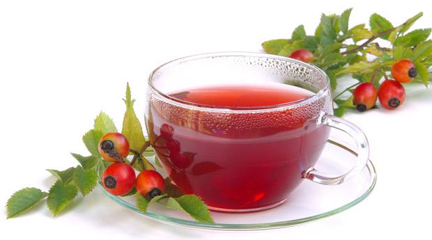 Печень будет в порядке, если пить чай из шиповника