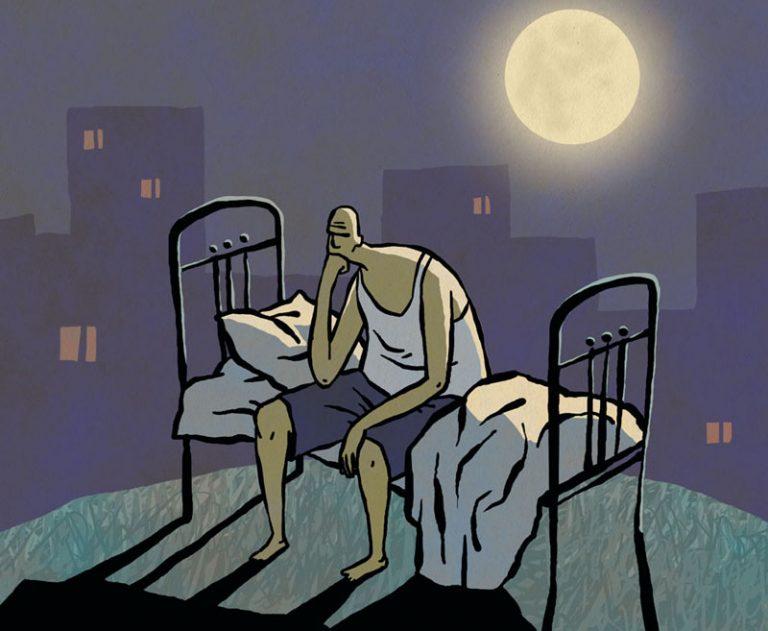 Как уснуть, когда болит?