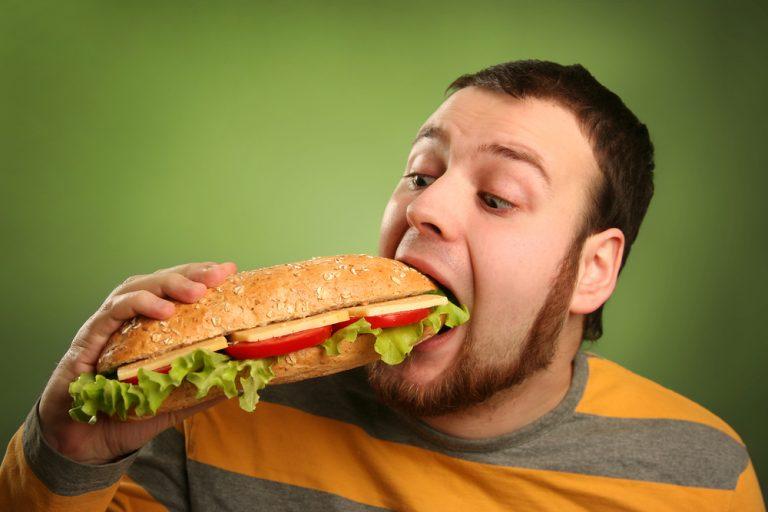 Сколько нужно съесть, чтобы желудок не растянулся…