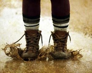 Промокла обувь?