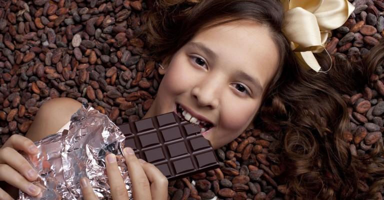 Ура! Можно есть горький шоколад!