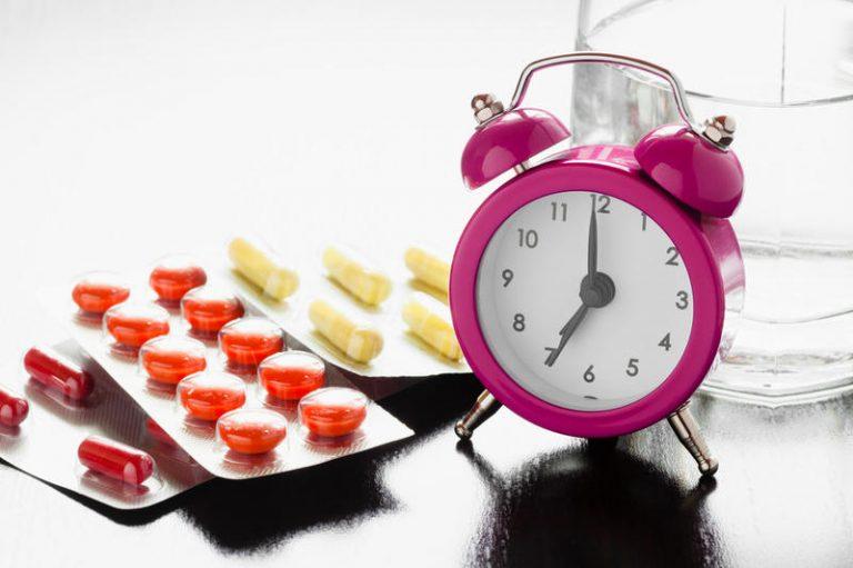 Каждой таблетке своё время