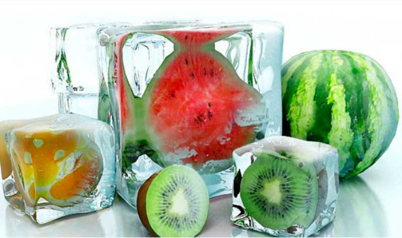 Ледяные кубики для красоты